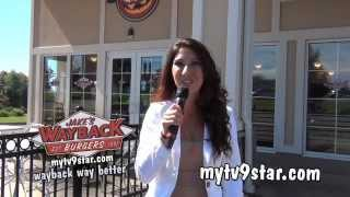 MyTV9 Star, Tulin, Appears at Jake's Wayback Burgers in East Windsor!