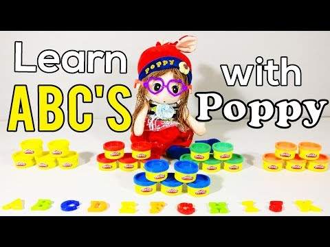 💙 Learn the abc's with 💙 Poppy 💙 in a magical way - Video