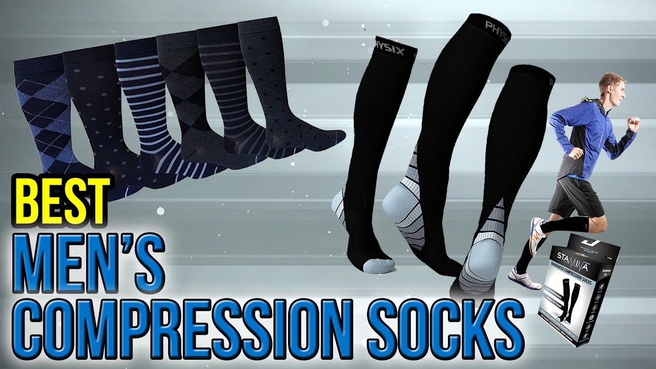 defb211bc9e 8 Best Men's Compression Socks 2017 - YouTube