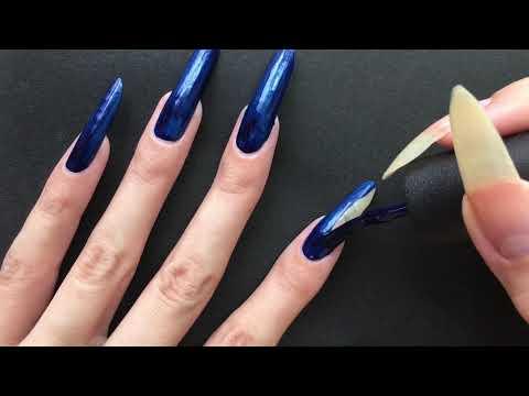 color-polish-on-my-natural-long-nails💅