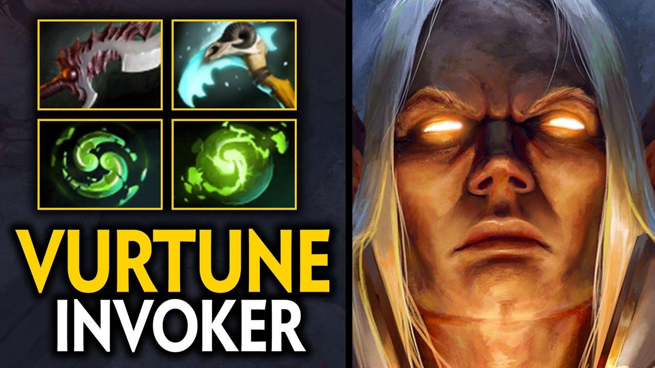 WHAT A GAME!! VURTUNE INVOKER REFRESHER COMBO EPIC COMEBACK 72MINS GAME | Dota 2 Invoker