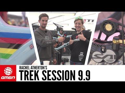 Rachel Atherton's Trek Session 9.9 | GMBN Pro Bikes