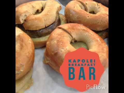 Kapolei Breakfast Bar
