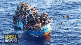 EU Plan to Militarize and Destroy Migrant Boats Leaving Libya