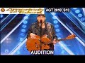 "Hunter Price Original song ""Left Behind"" on His Second Chance America's Got Talent 2018 Audition AGT"