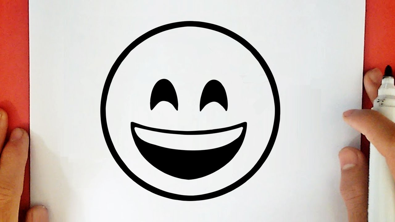 Comment Dessiner Un Emoji Souriant Youtube