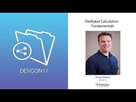 FileMaker Calculation Fundamentals (Beginner 006)
