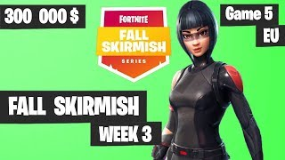 Fortnite Fall Skirmish Week 3 Game 5 EU Highlights (Group 1) - King Pin