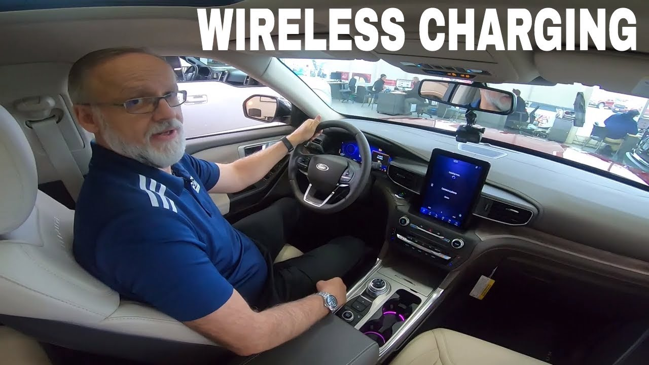 How To Use Wireless Phone Charging With Ford Vehicles Youtube