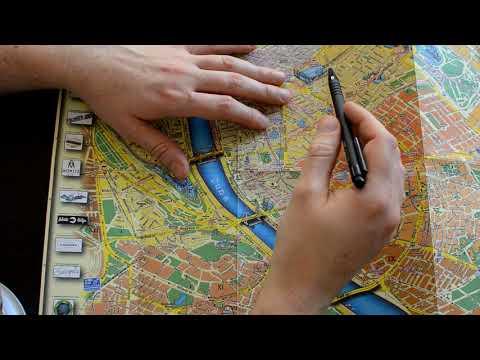 ASMR Roleplay - Budapest Map Tour (whispering)
