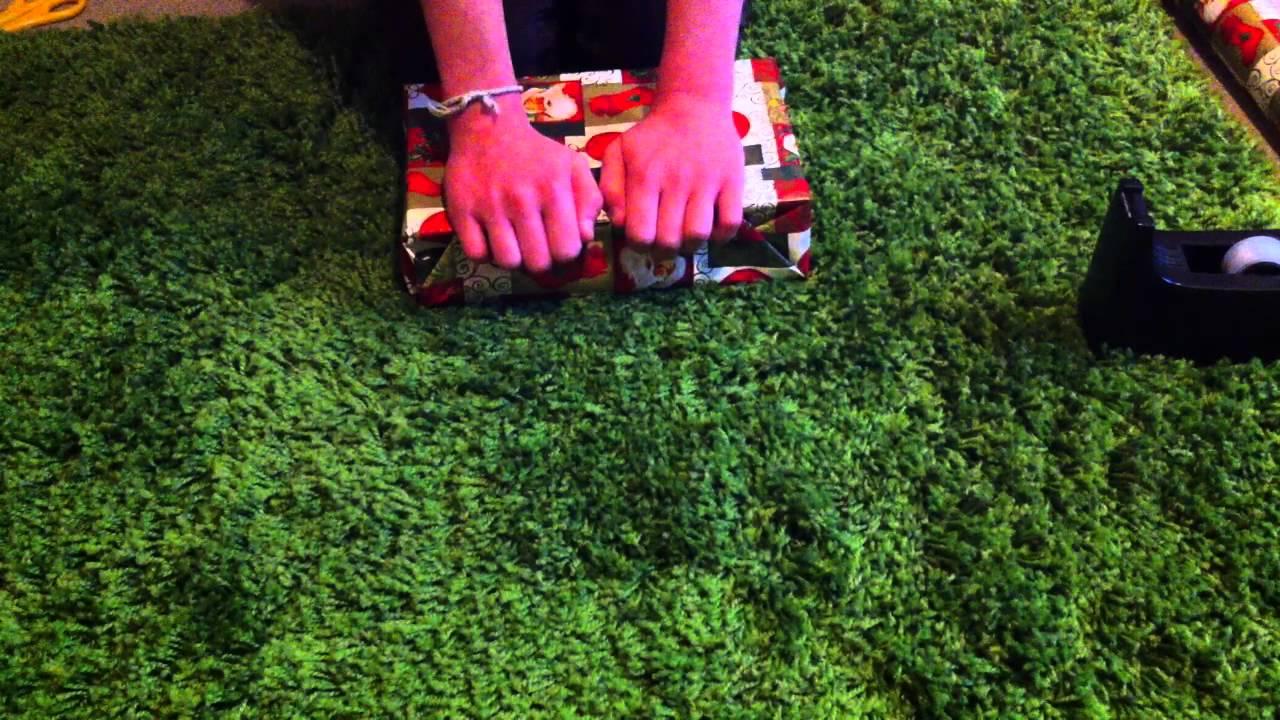 geschenke verpacken buch als geschenk verpacken youtube. Black Bedroom Furniture Sets. Home Design Ideas