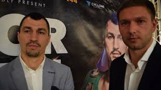 VIKTOR POSTOL ON COMING TO SCOTLAND TO FIGHT RISING STAR JOSH TAYLOR (EXCLUSIVE VIDEO)