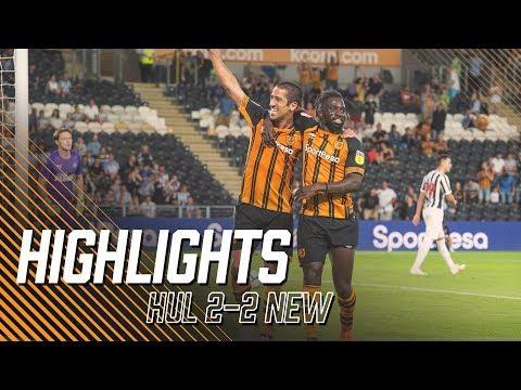 Pre Season | Hull City 2-2 Newcastle United | Highlights