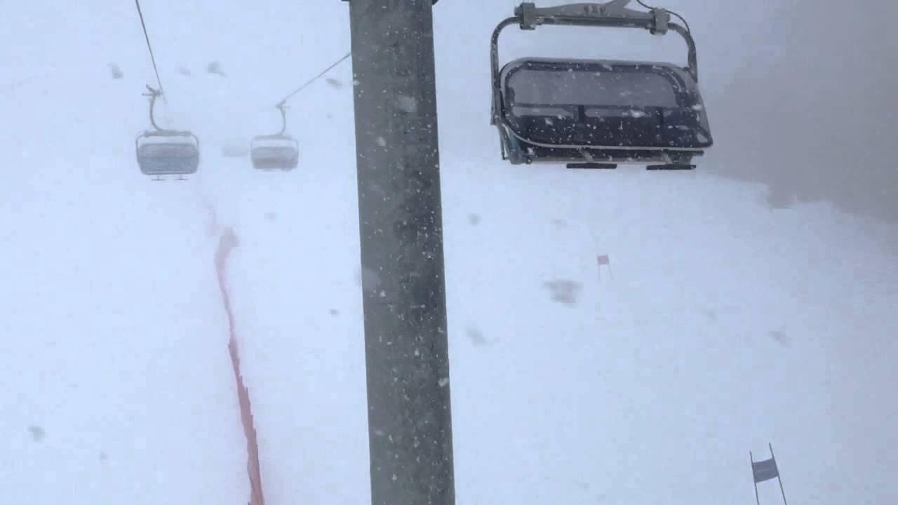 Nevicata in cabina andalo youtube for Affitti della cabina della penisola olimpica