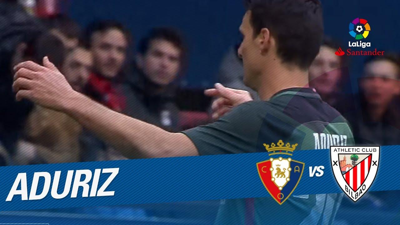 El gol número 100 de Aduriz en LaLiga con el Athletic Club - YouTube 5ede8f9b60c37