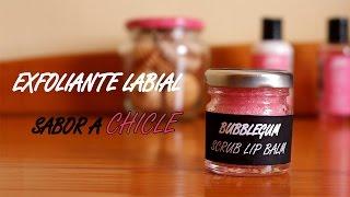Cómo hacer exfoliante para labios con sabor a chicle (DIY) ♥ Mejores ideas de Sara