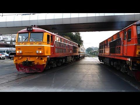 จุดตัดทางรถไฟยมราช / YOMMARAT RAILROAD CROSSING (BANGKOK)