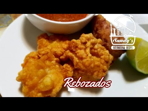 Pescado y camarón frito estilo CdMX │How to make breaded fish│Sandy's International Recipes