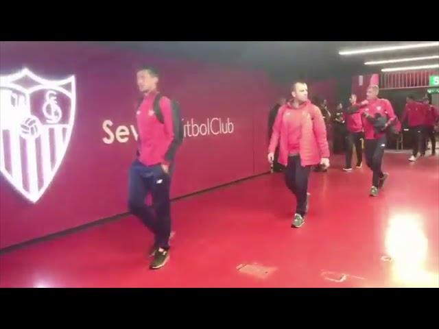 Eduardo Berizzo vuelve con el Sevilla tras su operación