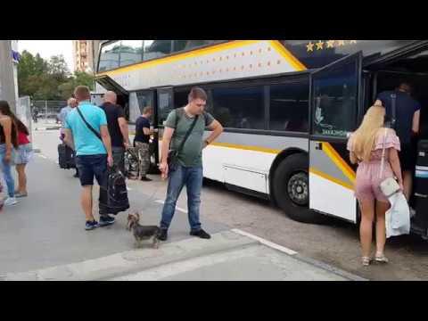 Смотрим кто куда едет. Рейсы на материк. Симферополь