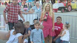 17 News at the Fair: FFA animals on set