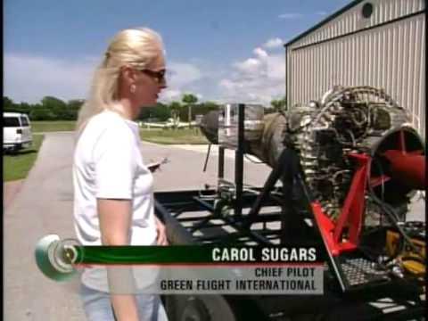 Worlds first bio fuel jet