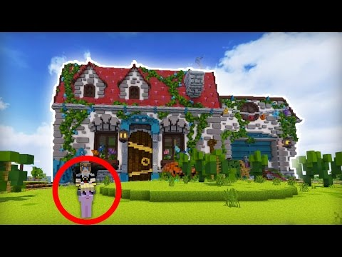 La plus grande maison minecraft youtube for Belle maison minecraft