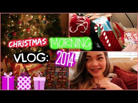 Christmas Morning Vlog 2014!