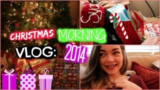 Christmas Morning Vlog 2014!