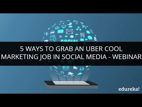 5 ways to grab an uber cool marketing job in Social Media |