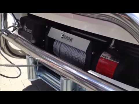 Električni vitli / Electric Winch / T-MAX EW 9500 / X seria