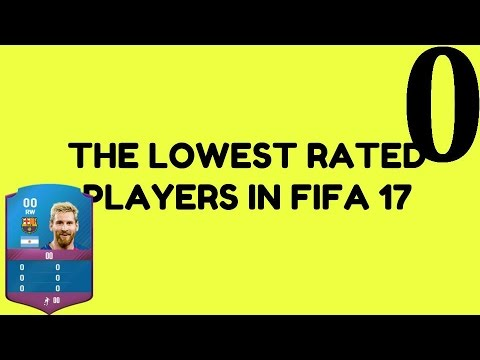 Lowest Rated Players In Fifa 17