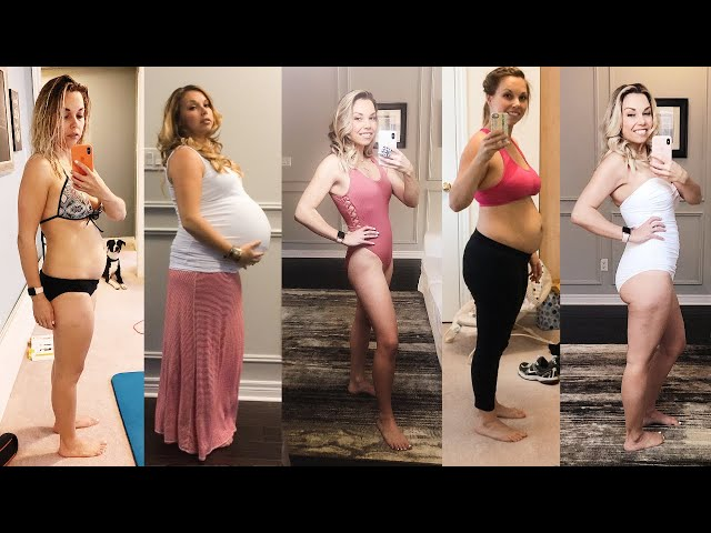 5 Year Postpartum Body Transformation After Twins
