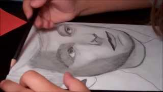 HOW TO DRAW LOUIS TOMLINSON (speed drawing)