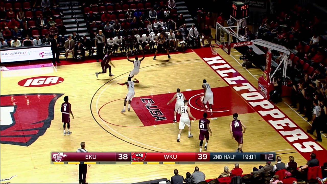 Eastern Kentucky v Western Kentucky Basketball Highlights - YouTube