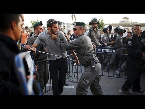 Colère des colons lors de la destruction de maisons en Cisjordanie occupée