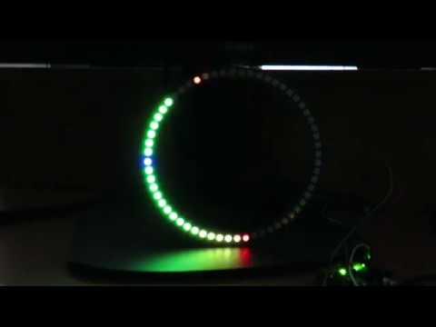 Stereo NeoPixel Ring VU Meter - Arduino Project Hub