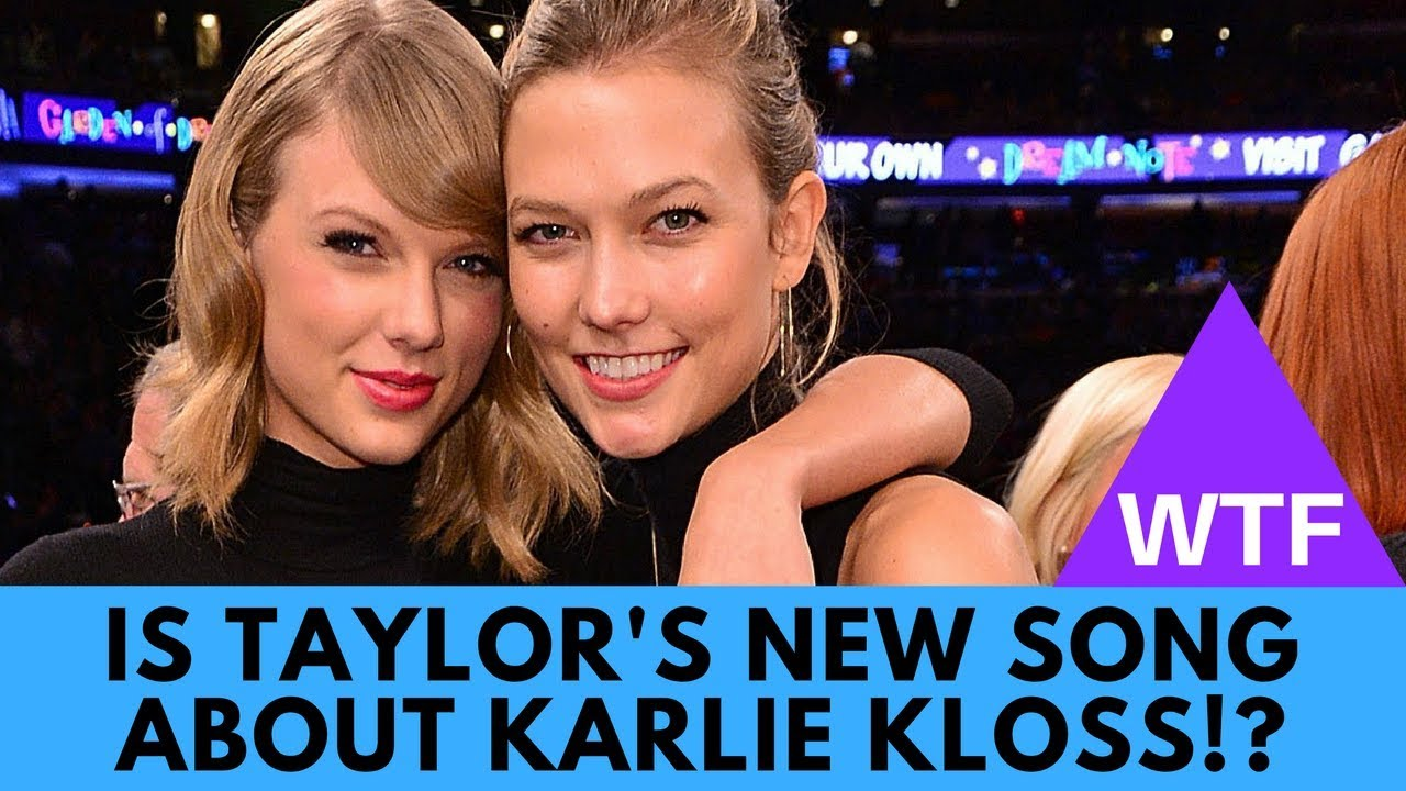 WTF! Taylor Swift's Song 'Dress' About Karlie Kloss (EVIDENCE)?! | Hollywire