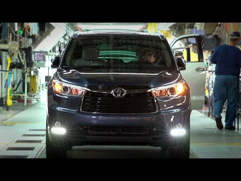 Toyota Motor Manufacturing, Indiana (Highlander, Sequoia and Sienna)