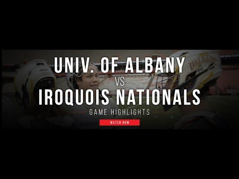 Univ. of Albany vs Iroquois Nationals | 2017 Fall Lacrosse Highlights