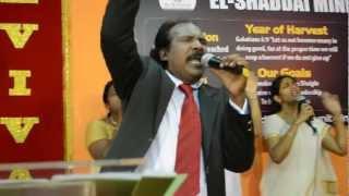 El-Shaddai Ministries Singapore : Worship Service 3 March 2013