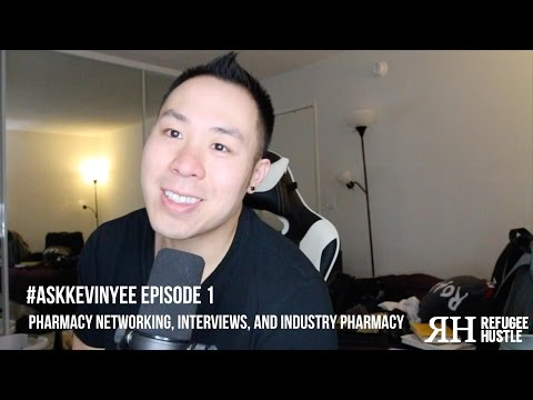 Pharmacy networking, interviews, and industry pharmacy | #AskKevinYee Episode 1