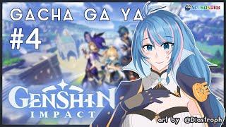 【#4 Genshin Impact】Ambil Ayaka ga guys? | Lanjut Story dan Kuli Primogems【NIJISANJI ID】