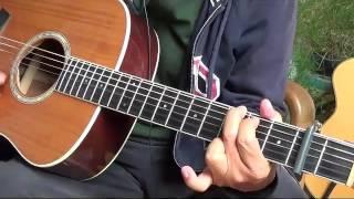 Giã biệt Sài Gòn  ( Nam Lộc) Guitar  Cover 03 08 2016