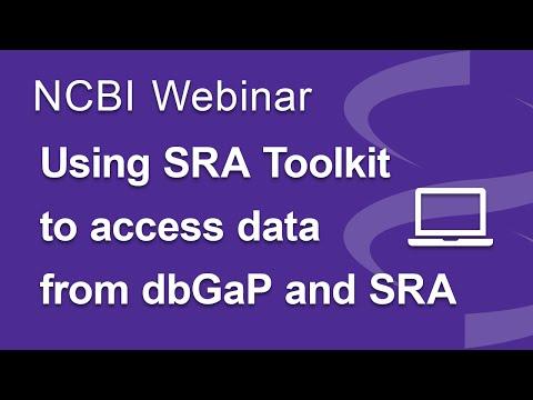 Webinar: Using NCBI's SRA Toolkit