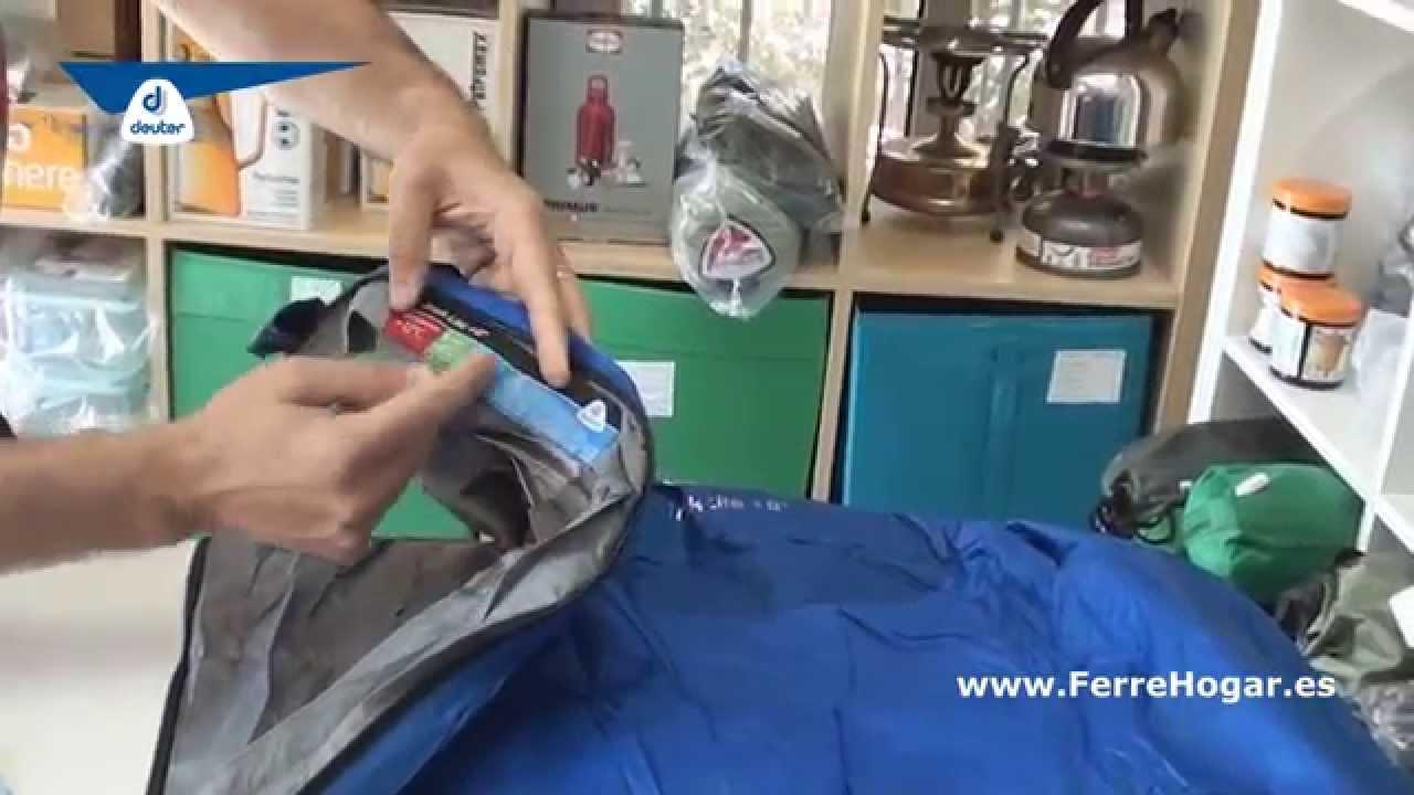 Angebot Deuter Schlafsack Exosphere +2 Grad, CobaltSteel