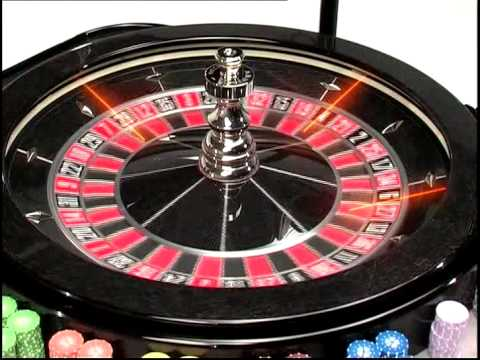 American Roulette Table & Laser Wheel | Abbiati Casino Equipment