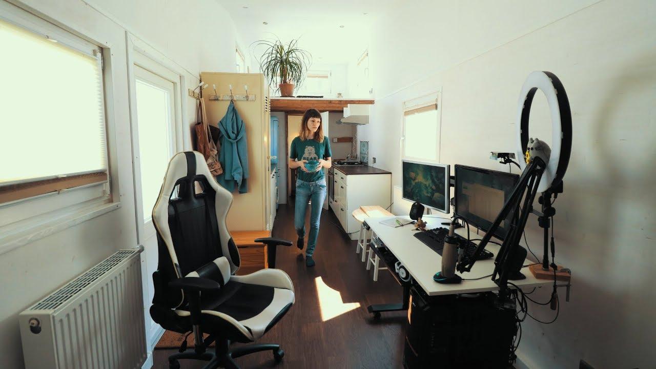 So sieht mein Tiny House aus - aktuelle Tour | Leben im Tiny House