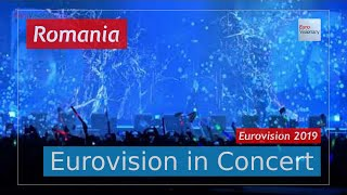 Romania Eurovision 2019 Live: Ester Peony - On a Sunday - Eurovision in Concert