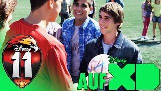 Disney XD | 11 - Clip: Querlatte + Lorenzo fängt den Ball = Magie